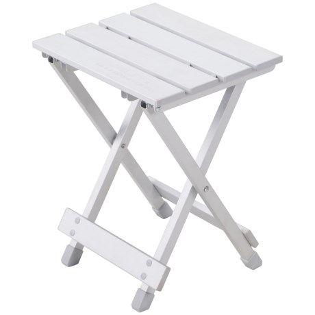 ALPS Mountaineering Sidekick Folding Side Table in Silver