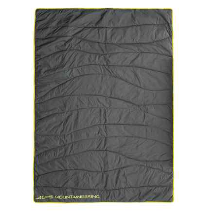 "ALPS Mountaineering Stargaze Throw Blanket - 50x70"" in Dark Shadow/Citronelle - Closeouts"