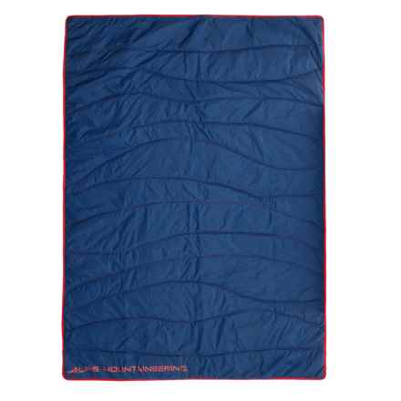 "ALPS Mountaineering Stargaze Throw Blanket - 50x70"" in Poseidon/Fiery Red - Closeouts"