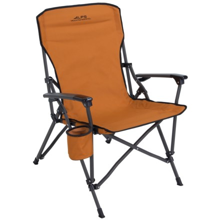 Alps Mountaineering Steel Leisure Chair In Rust Closeouts