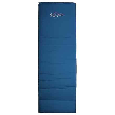 ALPS Mountaineering Summit Sleeping Pad - Self-Inflating, XL in Blue - Closeouts