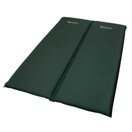 ALPS Mountaineering Summit Sleeping Pads - Self-Inflating, Set of 2 in Green - Closeouts