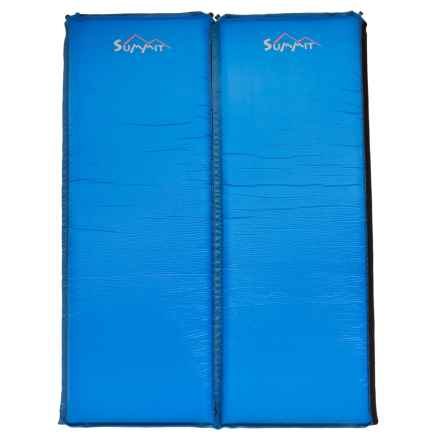 ALPS Mountaineering Summit Sleeping Pads - Self-Inflating, Set of 2 in Steel Blue - Closeouts