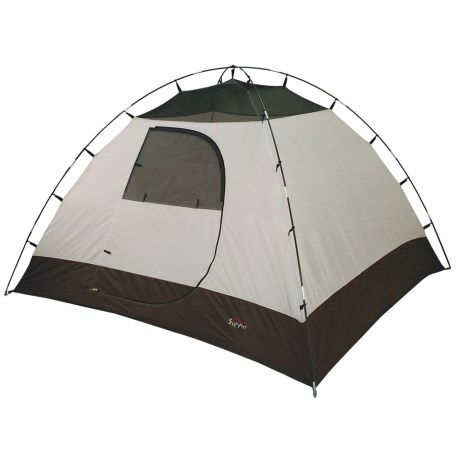 ALPS Mountaineering Summit Tent - 4-Person, 3-Season in Grey/Coal/Sage