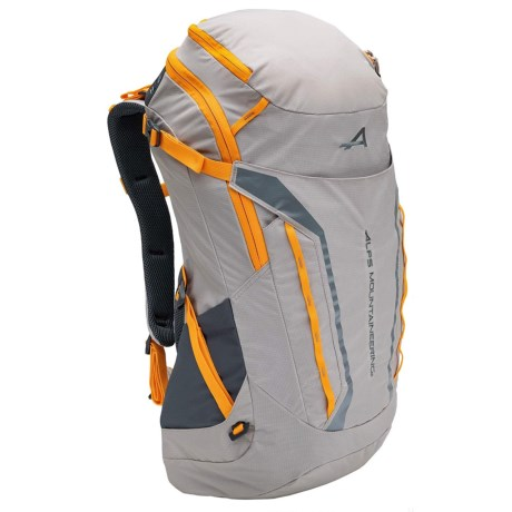 ALPS Mountaineering Tour 45L Backpack in Gray/Apricot