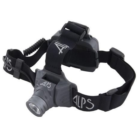 ALPS Mountaineering Trail Star 250 Headlamp - 250 Lumens in Black