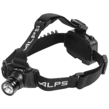 ALPS Mountaineering Trail Star 250 LED Headlamp - 250 Lumens in Black - Closeouts