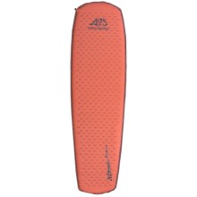 ALPS Mountaineering Ultralight Series Air Pad - Regular, Self-Inflating in Orange Rust - Closeouts