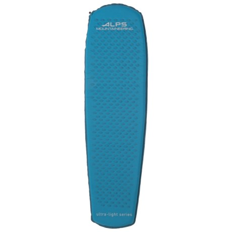 ALPS Mountaineering Ultralight Series Sleeping Pad - Self-Inflating in Medium Blue