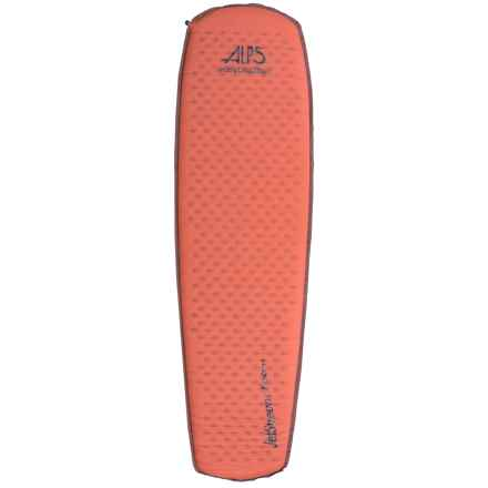ALPS Mountaineering Ultralight Series Sleeping Pad - Self-Inflating in Orange Rust - Closeouts