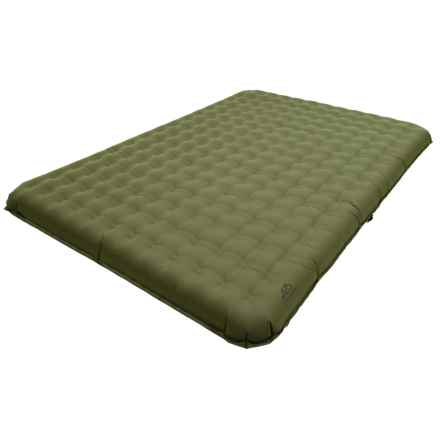ALPS Mountaineering Velocity Air Bed - Queen, PVC-Free in Green - Closeouts