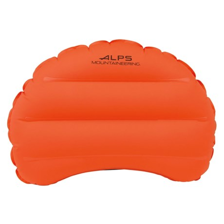 ALPS Mountaineering Versa Inflatable Camp Pillow in Flame