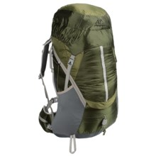 ALPS Mountaineering Wasatch 3900 Backpack - Internal Frame in Green - Closeouts