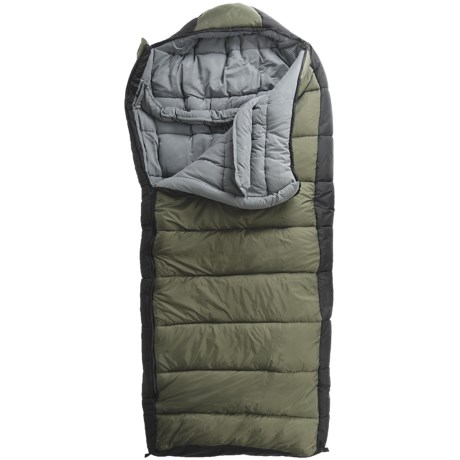 ALPS Outdoorz -20°F Crestone Peak Sleeping Bag- Synthetic in Green/Black