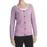 ALPS Soft Focus Cardigan Sweater (For Women)