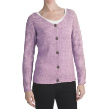 ALPS Soft Focus Cardigan Sweater (For Women) in Orchid - Closeouts