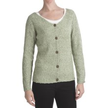 ALPS Soft Focus Cardigan Sweater (For Women) in Sage - Closeouts