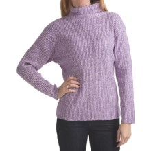 ALPS Temptress Turtleneck Sweater (For Women) in Orchid - Closeouts