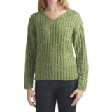 Alps Tradewinds Pullover Sweater - V-Neck (For Women)
