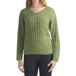 Alps Tradewinds Pullover Sweater - V-Neck (For Women) in Meadow