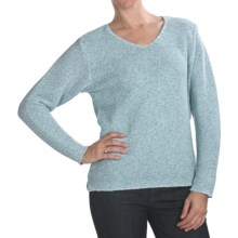 ALPS V-Neck Pullover Sweater (For Women) in Surf Spray - Closeouts