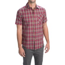 Altamont Civen Shirt - Short Sleeve (For Men) in Cardinal - Closeouts