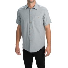 Altamont Civen Shirt - Short Sleeve (For Men) in Grey/Silver - Closeouts