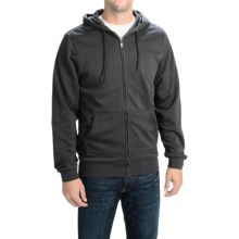 Altamont Limmits Fleece Jacket - Full Zip (For Men) in Black/Grey - Closeouts
