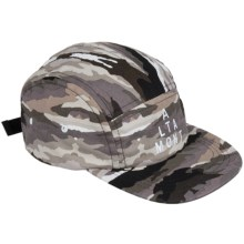 Altamont Paint by Camo Camp 5-Panel Hat (For Men) in Black/Camo - Closeouts