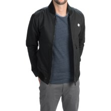 Altamont Strangelight Bomber Jacket (For Men) in Black/Charcoal - Closeouts