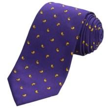 Altea Senna 2 Small Paisley Tie - Silk (For Men) in Purple - Closeouts