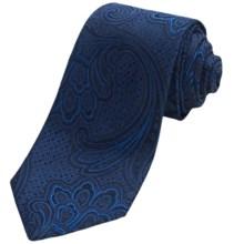 Altea Silk Ticino Paisley Tie (For Men) in Blue - Closeouts