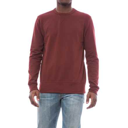 Alternative Apparel B-Side Reversible Vintage French Terry Sweatshirt (For Men) in Maroon - Closeouts
