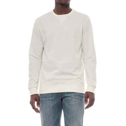 Alternative Apparel B-Side Reversible Vintage French Terry Sweatshirt (For Men) in Porcelain - Closeouts