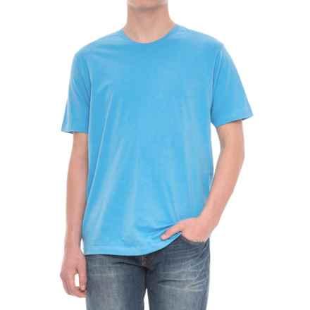 Alternative Apparel Basic T-Shirt - Short Sleeve (For Men) in Turquoise - Overstock