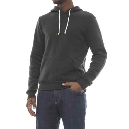 Alternative Apparel Challenger Eco-Fleece Hoodie (For Men) in Eco True Black - Closeouts