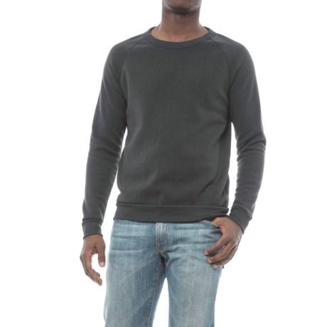 Alternative Apparel Champ Eco-Fleece Sweatshirt (For Men) in Eco True Black