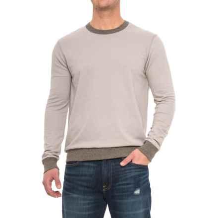 Alternative Apparel Champ Eco-Mock Twist Ringer Sweatshirt (For Men) in Eco Mock Nickel - Overstock