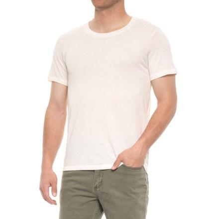 0e7657c41d Alternative Apparel Crew T-Shirt - Short Sleeve (For Men) in Ivory -