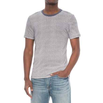 Alternative Apparel Crew T-Shirt - Short Sleeve (For Men) in Railroad - Overstock