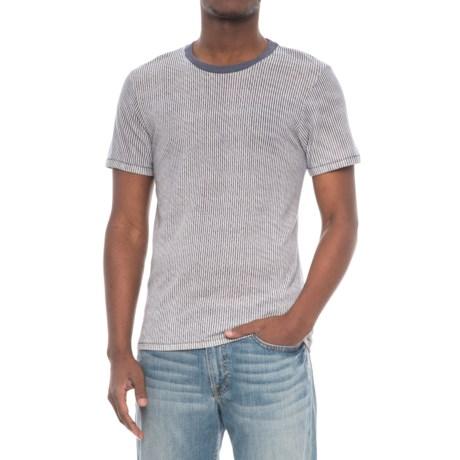 Alternative Apparel Crew T-Shirt - Short Sleeve (For Men) in Railroad