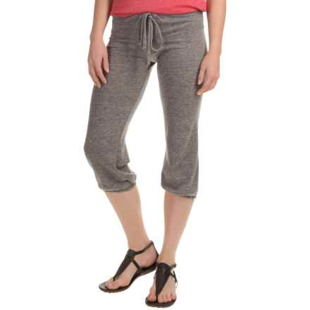 Alternative Apparel Easy Crop Pants (For Women) in Eco Black - Closeouts