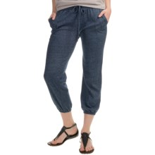 Alternative Apparel Easy Crop Pants (For Women) in Eco Mock Midnight - Closeouts