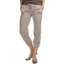 Alternative Apparel Easy Crop Pants (For Women) in Eco Mock Nickel - Closeouts