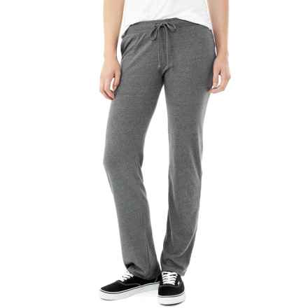 Alternative Apparel Easy Jersey Eco-Mock Pants (For Women) in Eco Mock Black - Closeouts