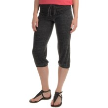 Alternative Apparel Eco-Jersey Joggers (For Women) in Eco Black - Closeouts