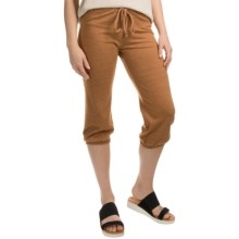 Alternative Apparel Eco-Jersey Joggers (For Women) in Eco Trust Rust - Closeouts