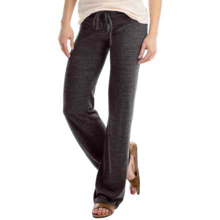 Alternative Apparel Eco-Jersey Lounge Pants (For Women) in Eco Black - Closeouts