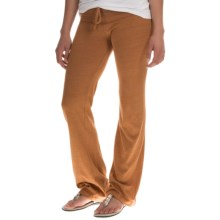 Alternative Apparel Eco-Jersey Lounge Pants (For Women) in Eco Trust Rust - Closeouts