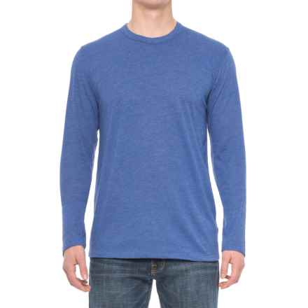 Alternative Apparel Eco-Jersey Shirt - Long-Sleeve (For Men) in Eco True Pacific Blue - Overstock